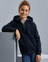 Kids´ Authentic Zipped Hooded Sweat